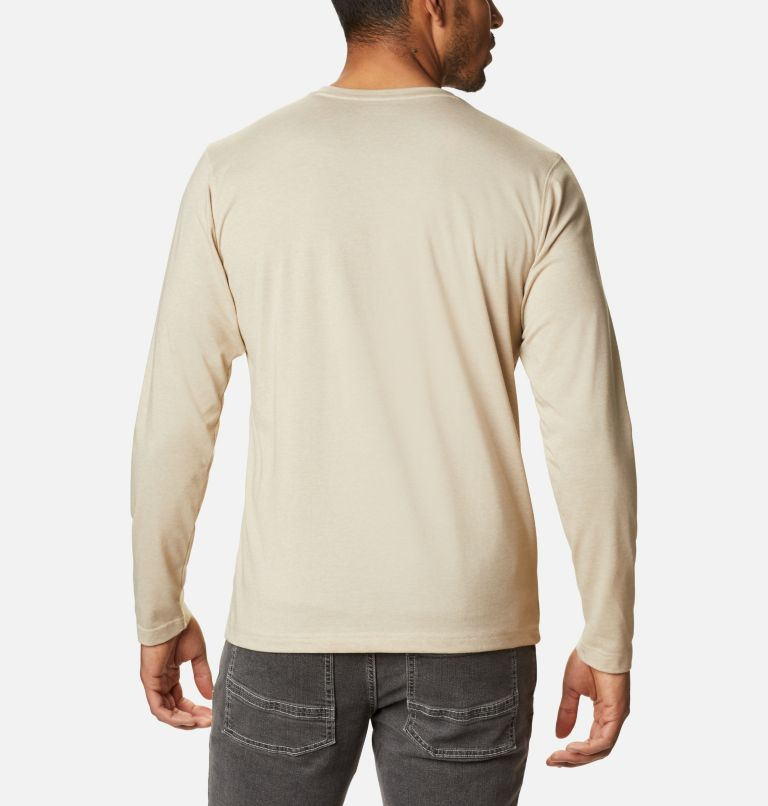 Thistletown Park™ Henley | 271 | S Men's Thistletown Park™ Henley, Ancient Fossil Heather, back