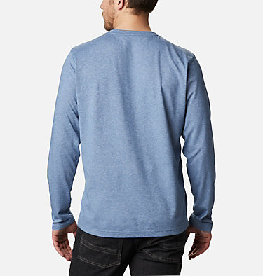 Men's Thistletown Park™ Henley Thistletown Park™ Henley | 397 | XXL, Bluestone Heather, back