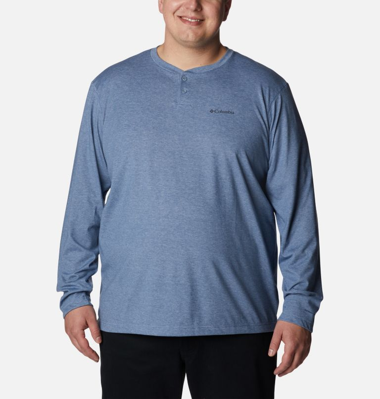 Men's Thistletown Park™ Henley - Big Men's Thistletown Park™ Henley - Big, front