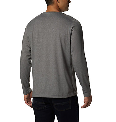 Men's Thistletown Park™ Henley - Tall Thistletown Park™ Henley | 397 | LT, Charcoal Heather, back