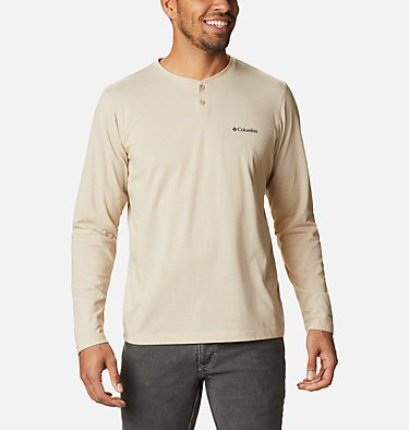 Men's Thistletown Park™ Henley - Tall Thistletown Park™ Henley | 397 | LT, Ancient Fossil Heather, front