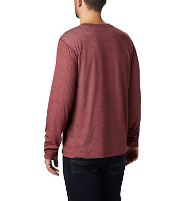 Men's Thistletown Park™ Henley - Tall Thistletown Park™ Henley | 397 | LT, Red Jasper Heather, back
