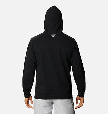 Men's PFG Triangle™ Hoodie - Big PFG Triangle™ Hoodie   012   4X, Black, Cool Grey, back