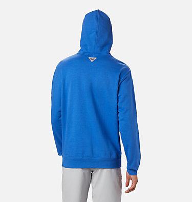 Men's PFG Triangle™ Hoodie - Big PFG Triangle™ Hoodie   012   4X, Vivid Blue, White, back