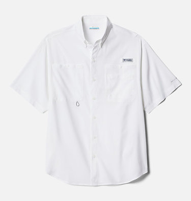 Men's PFG Crystal Springs™ Short Sleeve Shirt Crystal Springs™ Short Sleeve Shirt | 469 | L, White, front