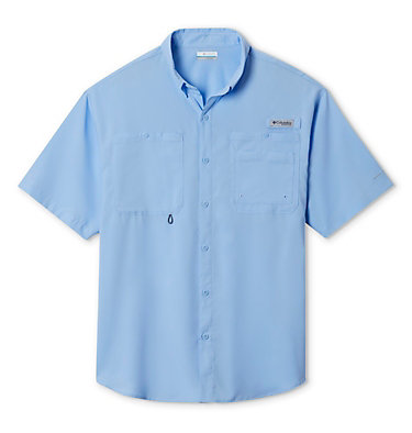 Men's PFG Crystal Springs™ Short Sleeve Shirt Crystal Springs™ Short Sleeve Shirt | 469 | L, Sail, front