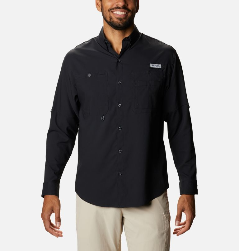 Men's PFG Crystal Springs™ Long Sleeve Shirt Men's PFG Crystal Springs™ Long Sleeve Shirt, front