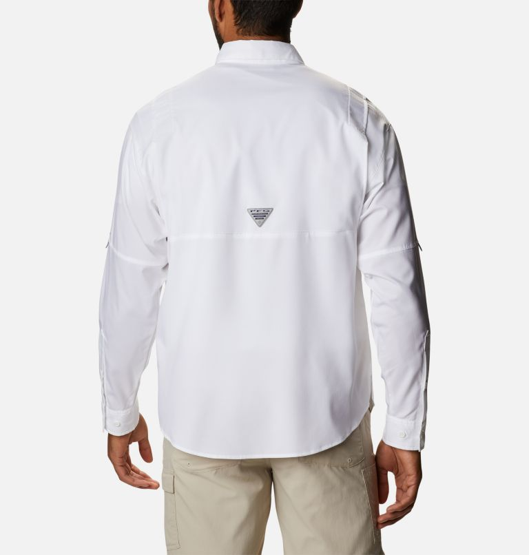 Crystal Springs™ Long Sleeve Shirt | 100 | XS Men's PFG Crystal Springs™ Long Sleeve Shirt, White, back