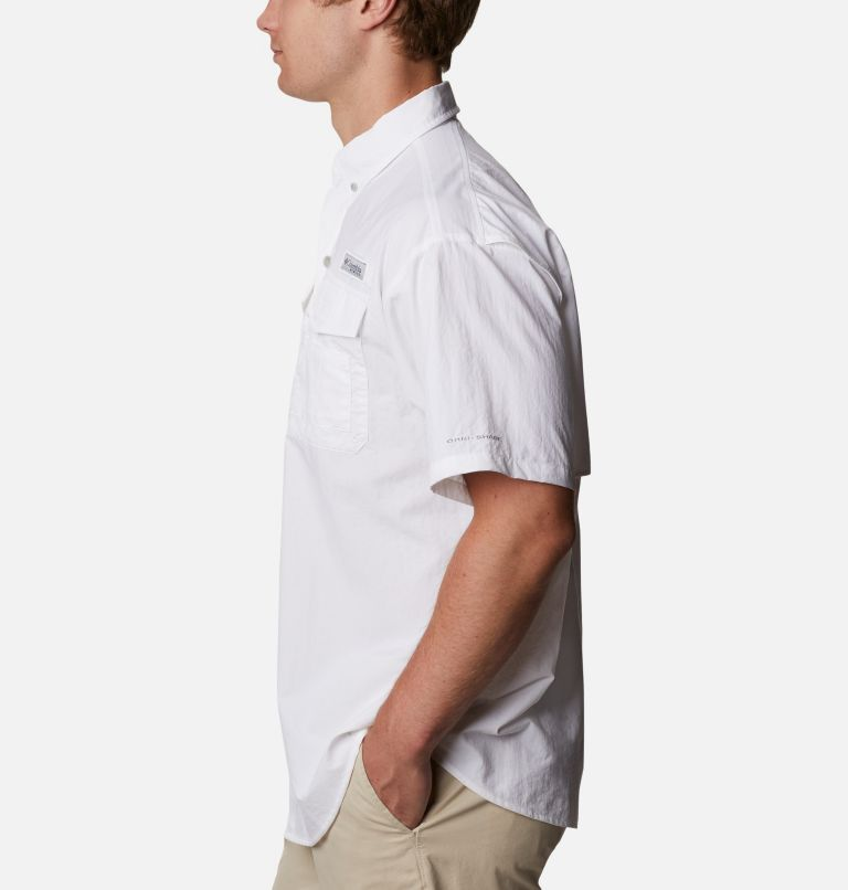 Distant Water™ Short Sleeve Shirt | 100 | XS Men's Distant Water™ Short Sleeve Shirt, White, a1