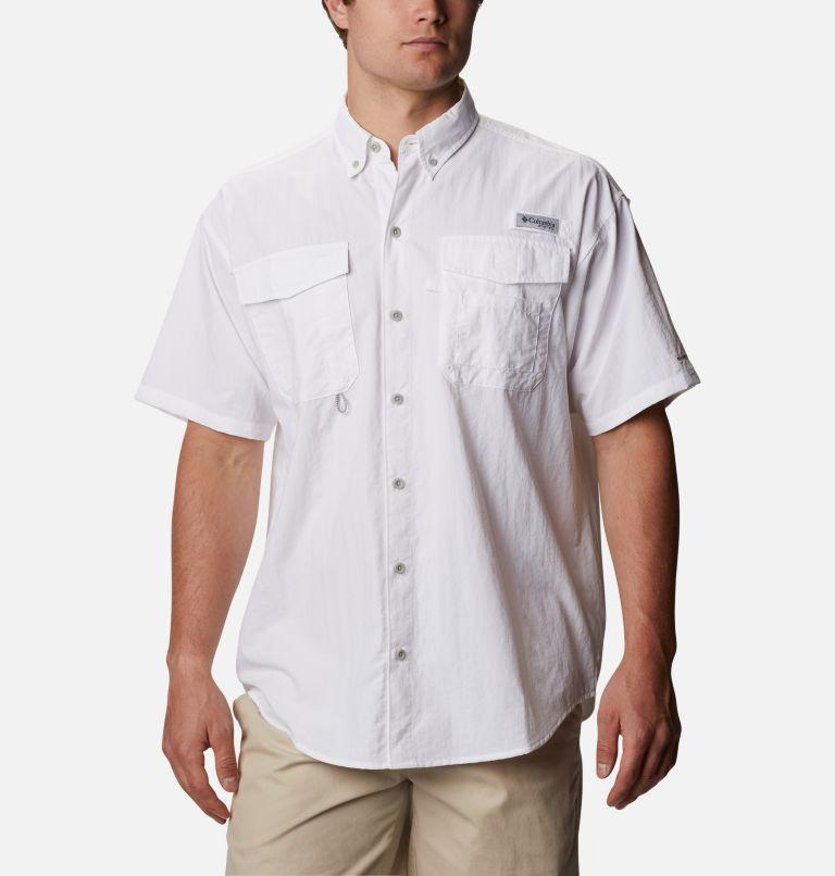 Distant Water™ Short Sleeve Shirt | 100 | XS Men's Distant Water™ Short Sleeve Shirt, White, front