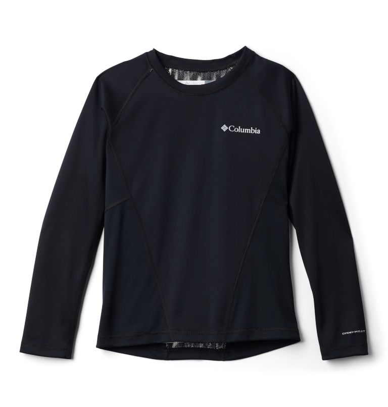 Midweight Crew 2 | 010 | S Youth Baselayer Midweight Crew 2, Black B, front