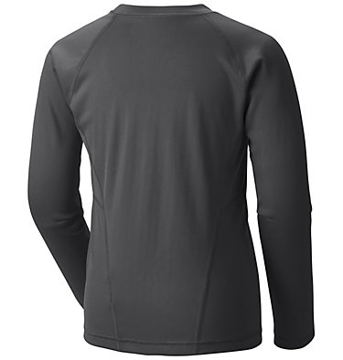 Kids' Baselayer Midweight Crew 2 Midweight Crew 2 | 010 | XXS, Black G, back