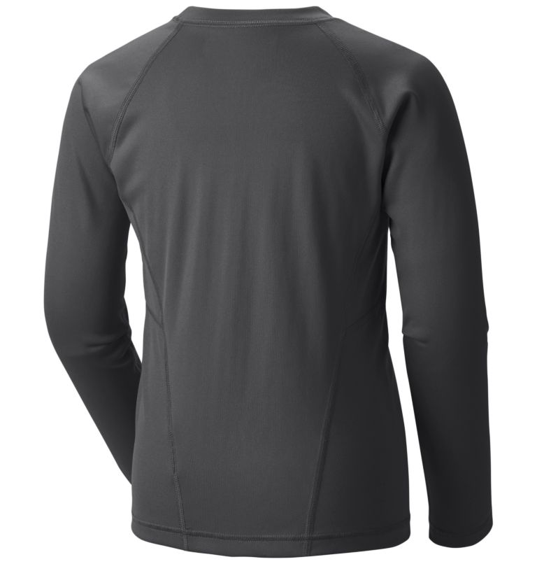 Midweight Crew 2 | 011 | M Youth Baselayer Midweight Crew 2, Black G, back