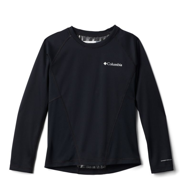 Midweight Crew 2 | 011 | S Youth Baselayer Midweight Crew 2, Black G, front