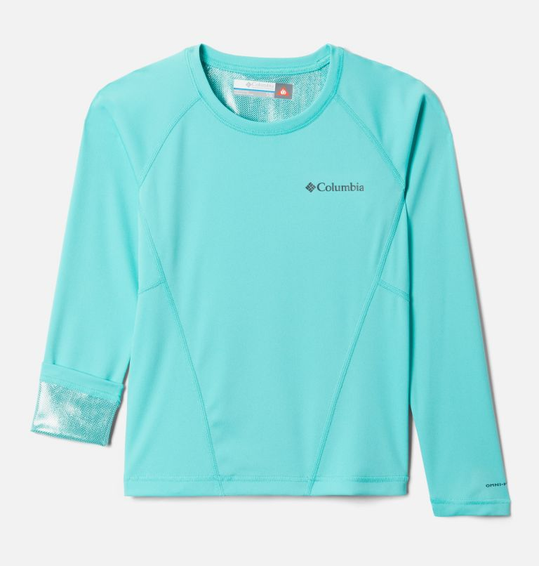 Midweight Crew 2 | 356 | S Youth Baselayer Midweight Crew 2, Dolphin, a1