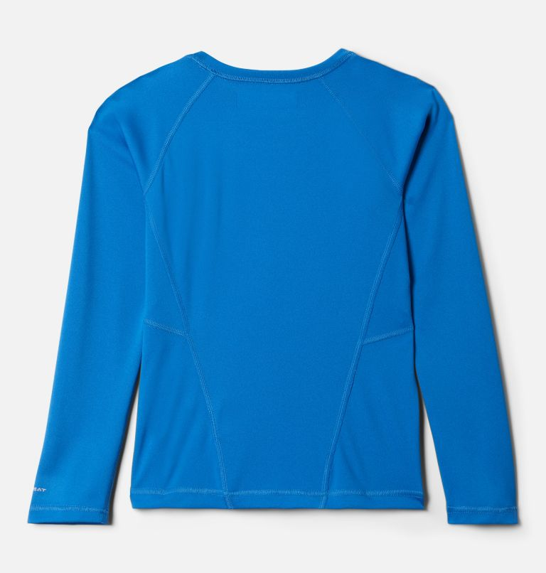 Midweight Crew 2 | 432 | S Youth Baselayer Midweight Crew 2, Bright Indigo, back