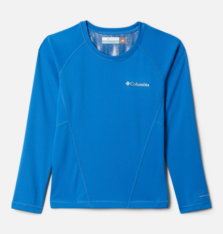Midweight Crew 2   432   XS Youth Baselayer Midweight Crew 2, Bright Indigo, front