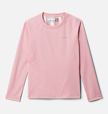 Kids' Baselayer Midweight Crew 2 Midweight Crew 2 | 010 | XXS, Pink Orchid, front