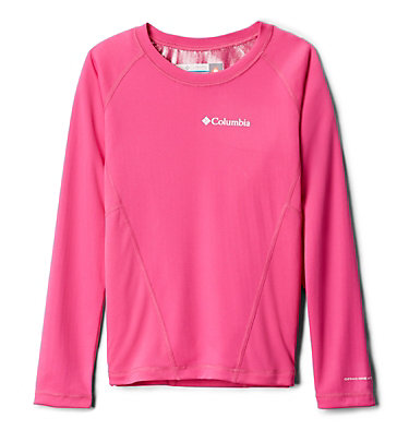 Youth Baselayer Midweight Crew 2 Midweight Crew 2 | 695 | M, Pink Ice, front