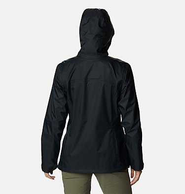 Women's Tested Tough in Pink™ Rain Jacket II Tested Tough in Pink™ Rain Jacket II | 011 | XXL, Black, back
