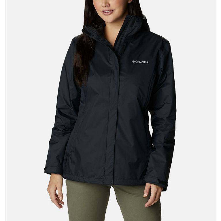 "New Womens Columbia /""Tested Tough In Pink II/"" Omni-Tech Waterproof Rain Jacket"