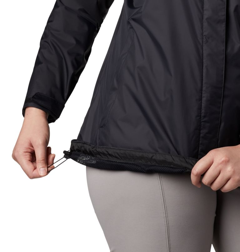 Women's Tested Tough in Pink™ Rain Jacket II - Plus Size Women's Tested Tough in Pink™ Rain Jacket II - Plus Size, a3