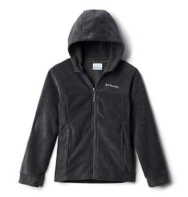 Boys' Steens™ Mountain II Fleece Hooded Jacket Steens™ II Fleece Hoodie | 432 | XL, Charcoal Heather, front