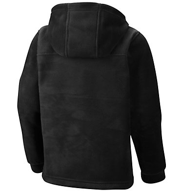 Boys' Steens™ Mountain II Fleece Hooded Jacket Steens™ II Fleece Hoodie | 432 | XL, Black, back