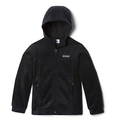 Boys' Steens™ Mountain II Fleece Hooded Jacket Steens™ II Fleece Hoodie | 432 | XL, Black, front