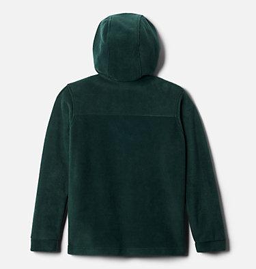 Boys' Steens™ Mountain II Fleece Hooded Jacket Steens™ II Fleece Hoodie | 370 | XS, Spruce, back