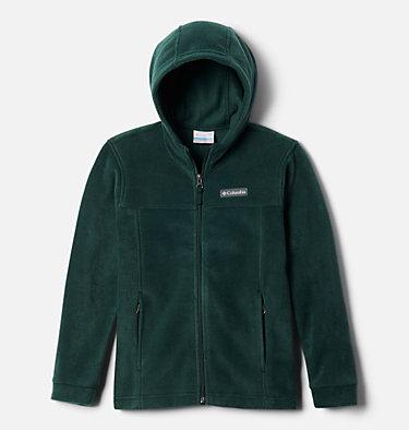 Boys' Steens™ Mountain II Fleece Hooded Jacket Steens™ II Fleece Hoodie | 370 | XS, Spruce, front