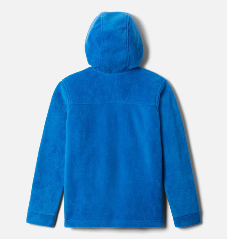 Steens™ II Fleece Hoodie | 432 | L Boys' Steens™ Mountain II Fleece Hooded Jacket, Bright Indigo, back