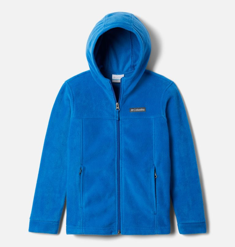 Steens™ II Fleece Hoodie | 432 | L Boys' Steens™ Mountain II Fleece Hooded Jacket, Bright Indigo, front