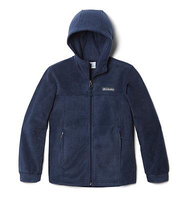 Boys' Steens™ Mountain II Fleece Hooded Jacket Steens™ II Fleece Hoodie | 432 | XL, Collegiate Navy, front