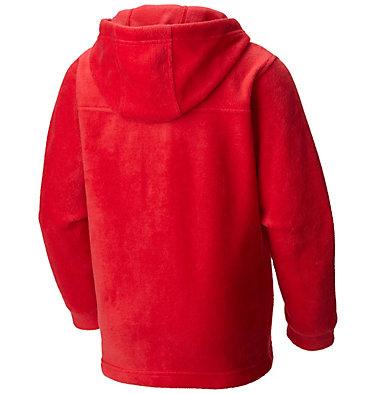 Boys' Steens™ Mountain II Fleece Hooded Jacket Steens™ II Fleece Hoodie | 432 | XL, Mountain Red, back