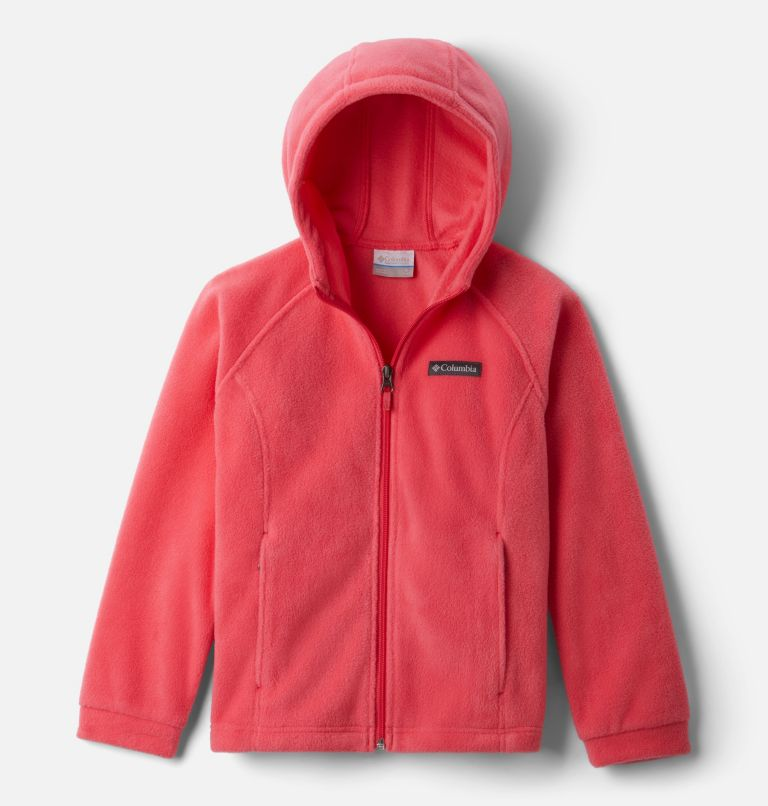 Girls' Benton™ Springs II Hooded Fleece Jacket Girls' Benton™ Springs II Hooded Fleece Jacket, front