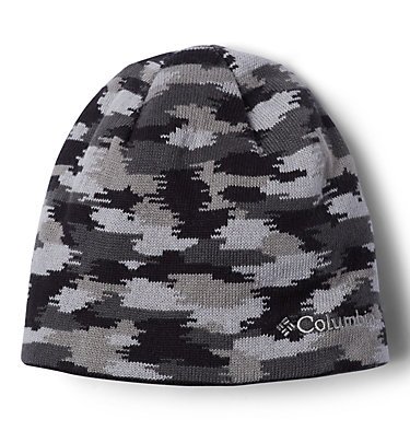 Kids' Urbanization Mix Reversible Beanie Toddler/Youth Urbanization Mix | 576 | S/M, Black, Slate Grey Camo, front