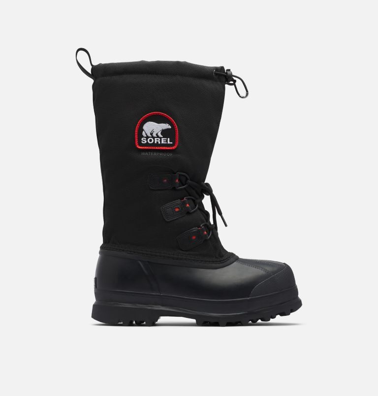 GLACIER™ XT | 010 | 12 Men's Glacier™ XT Boot, Black, Red Quartz, front