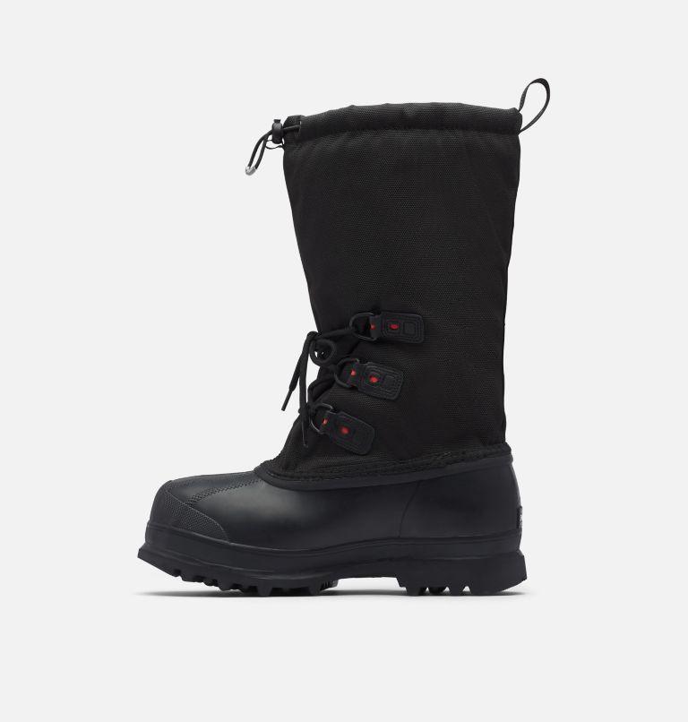 GLACIER™ XT | 010 | 13 Men's Glacier™ XT Waterproof Exploration Boot, Black, Red Quartz, medial