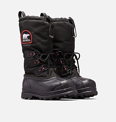 Women's Glacier™ Xt Boot GLACIER™ XT | 010 | 5, Black, Red Quartz, 3/4 front