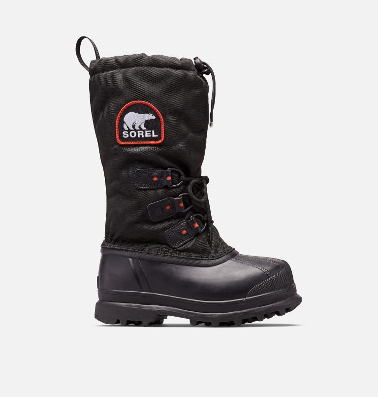 GLACIER™ XT | 010 | 8 Women's Glacier™ Xt Boot, Black, Red Quartz, front