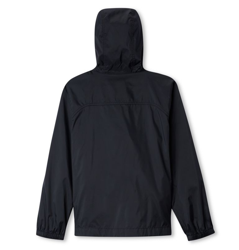 Glennaker™ Rain Jacket | 010 | L Boys' Glennaker™ Rain Jacket, Black, back