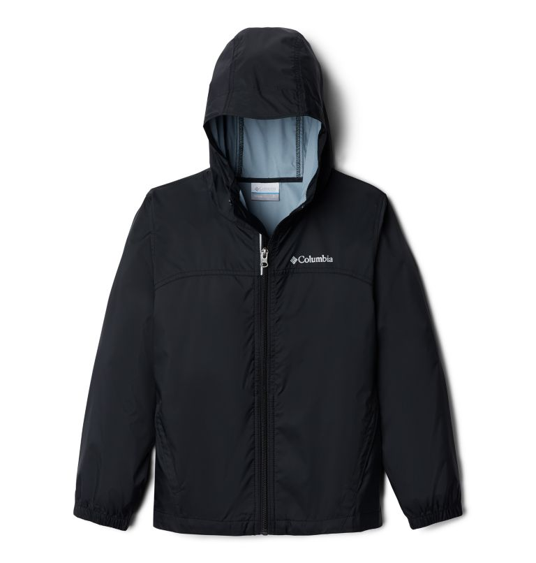 Glennaker™ Rain Jacket | 010 | S Boys' Glennaker™ Rain Jacket, Black, front