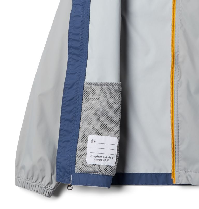 Glennaker™ Rain Jacket | 040 | M Boys' Glennaker™ Rain Jacket, Columbia Grey, Dark Mountain, a1