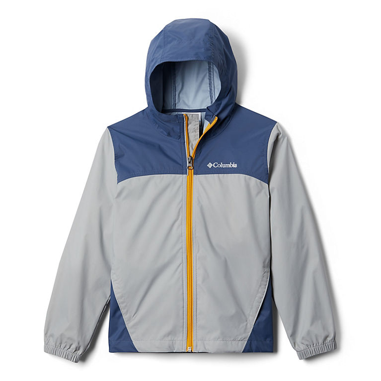 Lightweight Waterproof Jacket for Boys with Hood,Best for Rain School Day,Hiking and Camping Boys Rain Jacket