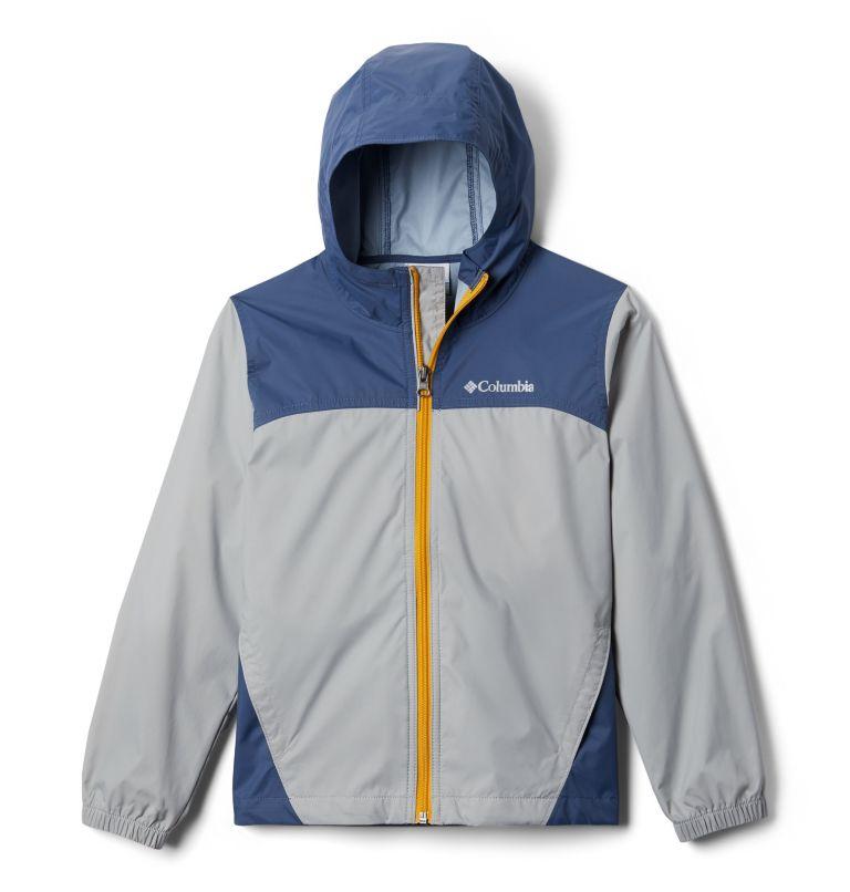Glennaker™ Rain Jacket | 040 | M Boys' Glennaker™ Rain Jacket, Columbia Grey, Dark Mountain, front