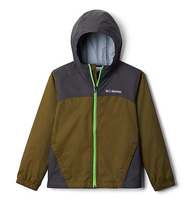 Boys' Glennaker™ Rain Jacket Glennaker™ Rain Jacket   040   L, New Olive, Shark, front