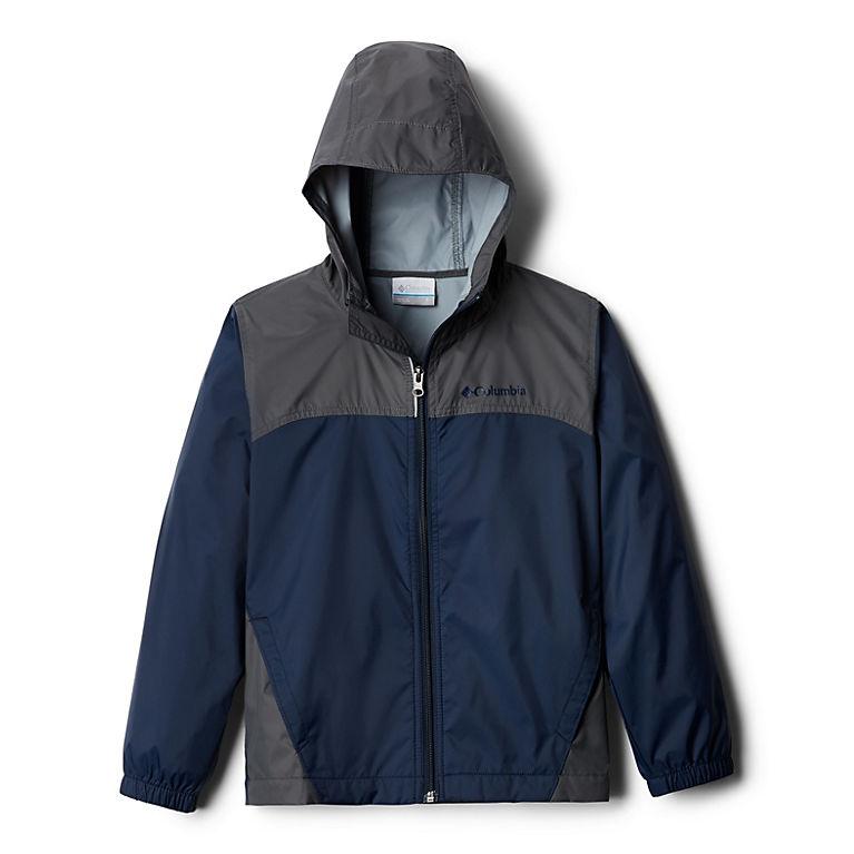 Collegiate Navy, Grill Boys' Glennaker™ Rain Jacket, View 0