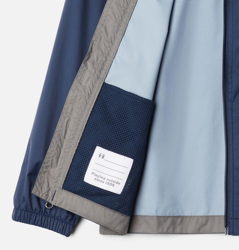 Glennaker™ Rain Jacket | 471 | XS Boys' Glennaker™ Rain Jacket, Collegiate Navy, City Grey, a1