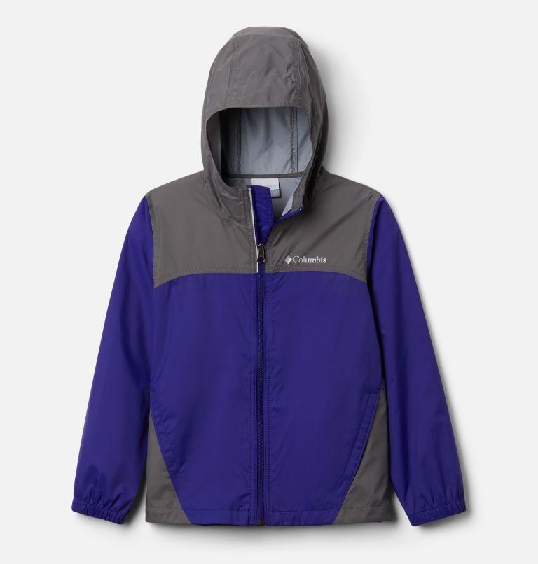 Glennaker™ Rain Jacket   503   M Boys' Glennaker™ Rain Jacket, Purple Quartz, City Grey, front